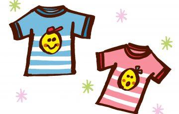 子供のTシャツ