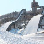 スキージャンプ台