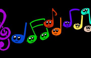 音符カラフル